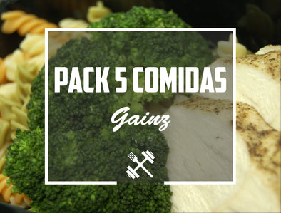 Pack Gainz 5 pack Feedness Meals