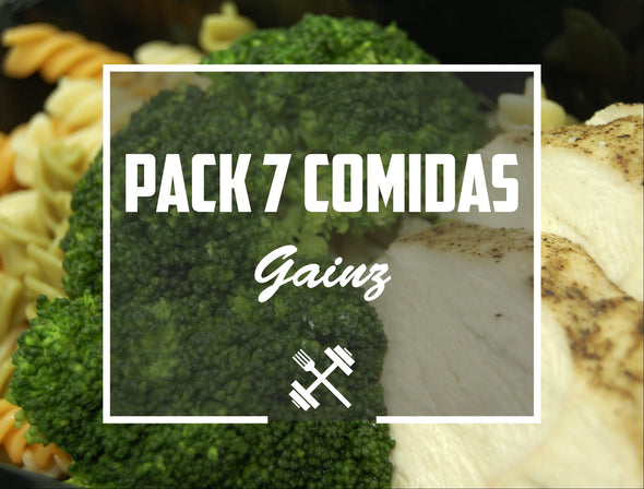 Pack Gainz 7 pack Feedness Meals