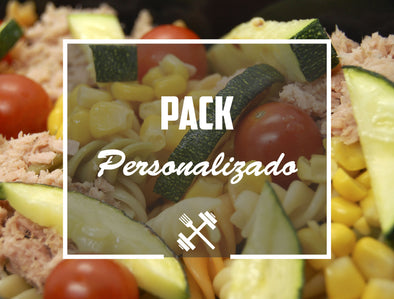 Pack personalizado Ruben (platos standard) Feedness Meals