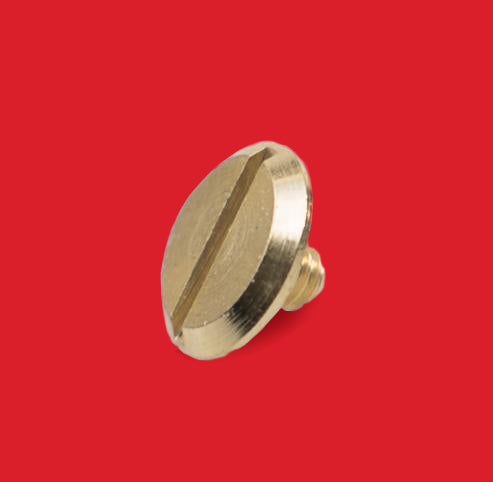 Flat Screw - 3.5mm Gold