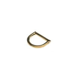 Flat D-Ring - 16mm BP