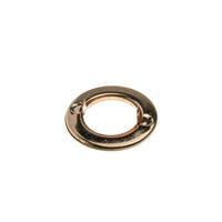 Circular Clip-on Eyelet - 21mm GOLD