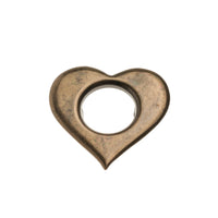 Heart Clip-on Eyelet - 21mm ANT