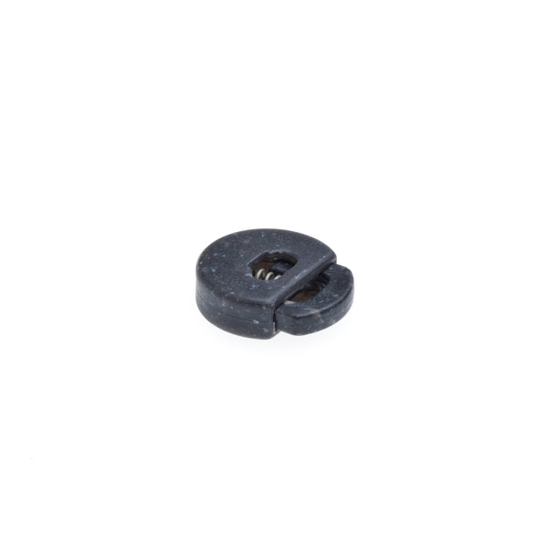Drawstring Toggle Cord End - 4mm Gun Metal
