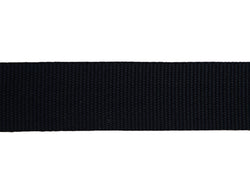 Webbing Black 40mm Nylon