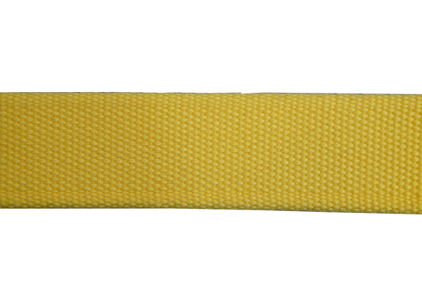 Webbing  35mm Yellow Nylon