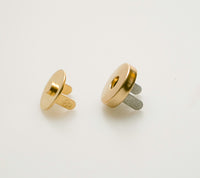 Magnet round 14mm X 2mm GOLD