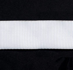 Webbing White 50mm Nylon  per meter