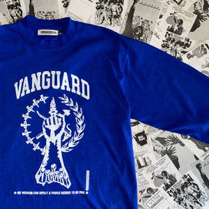 Vanguard Fist Long Sleeve, Blue