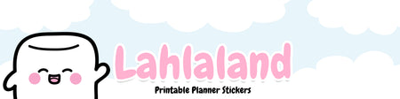 Lahlaland - Printable Planner Stickers