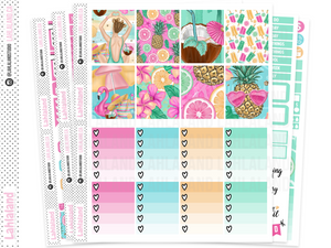 Erin Condren - Fun In The Sun Weekly Kit