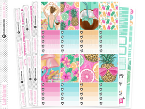 Classic Happy Planner - Fun In The Sun Weekly Kit