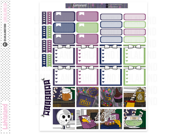 Mini Happy Planner - Wizard Party Weekly Kit