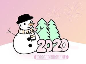 New Years 2020 Hobonichi Bundle