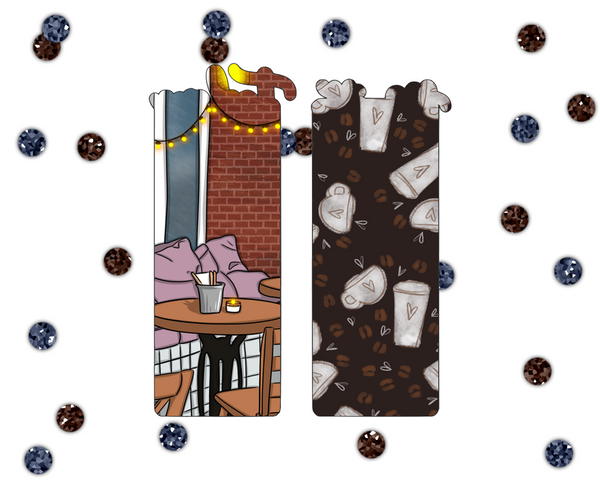 Coffee Shop Printable Bookmark
