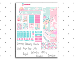 Mini Happy Planner - Whimsical Christmas Monthly Kit