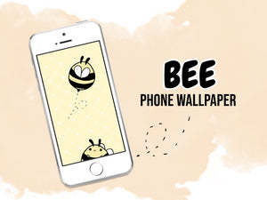 Bee Phone Wallpaper