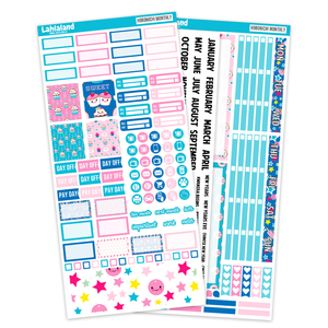 Hobonichi Weeks - Candyland Monthly Kit