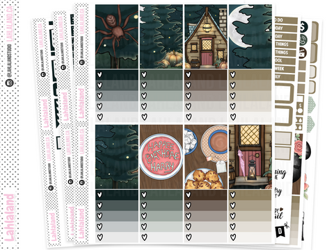 Classic Happy Planner - Tea At Hagrids Weekly Kit