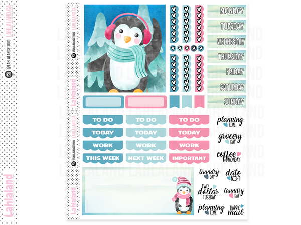 Classic Dashboard - Chilly Penguins Weekly Kit