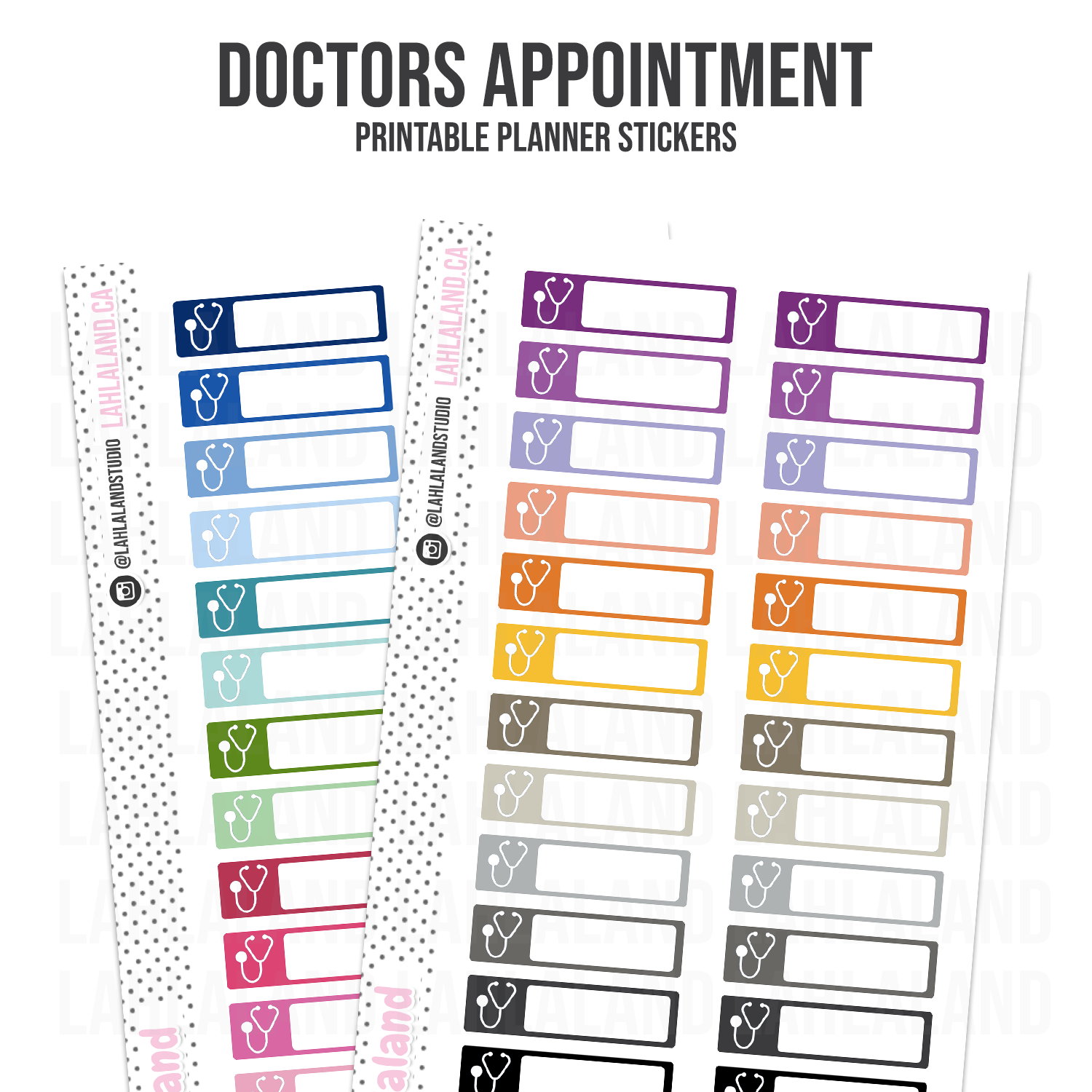 Doctors Appointment - Functional Stickers