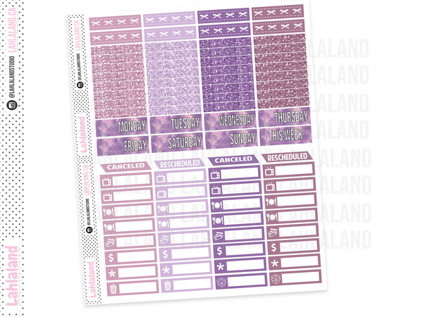 Standard Vertical - Planner Shop Weekly Kit