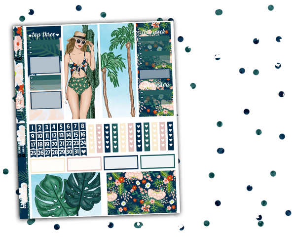 Erin Condren - Palm Springs Weekly Kit