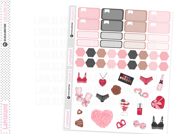 Classic Happy Planner - Love Games Weekly Kit