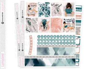 Standard Vertical, Classic Happy Planner - Bookworm Weekly Kit