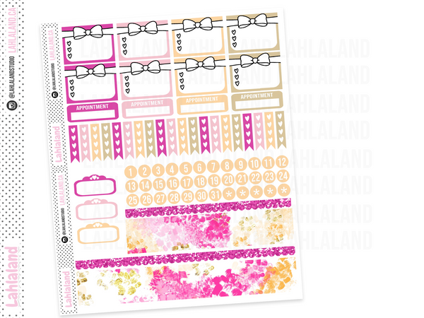 Erin Condren - Desk Till Dawn Weekly Kit