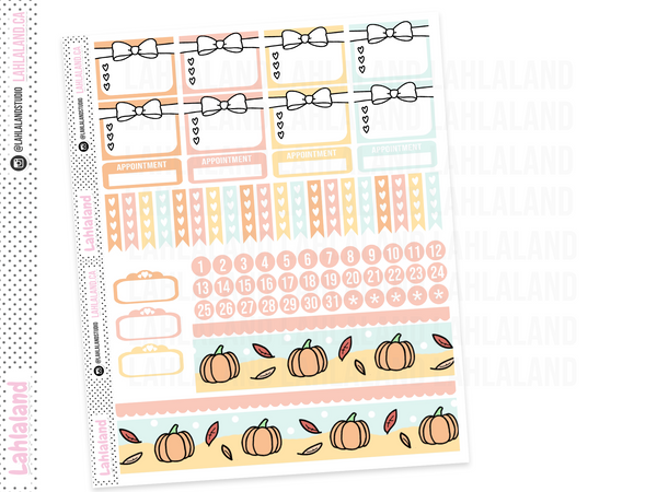 Erin Condren - Tripp Fall Weekly Kit