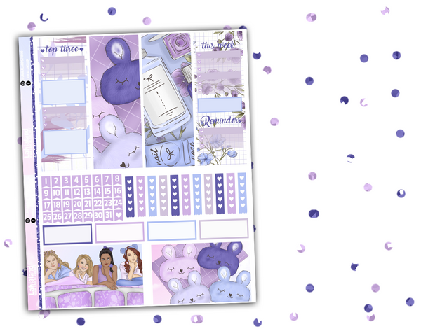 Classic Happy Planner - Slumber Party Weekly Kit
