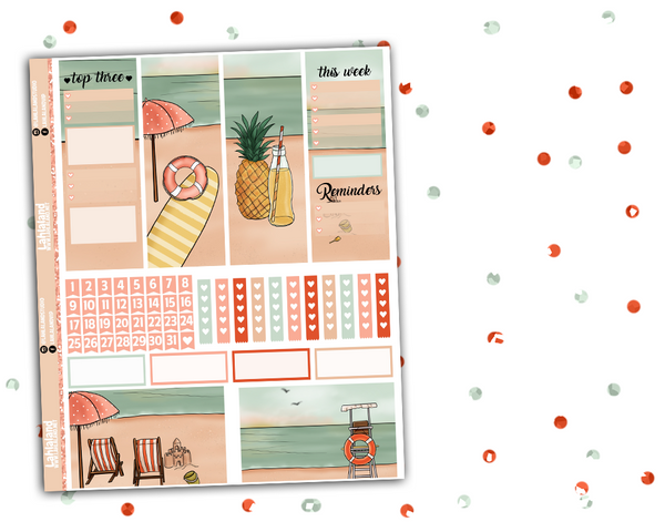 Classic Happy Planner - Retro Summer Weekly