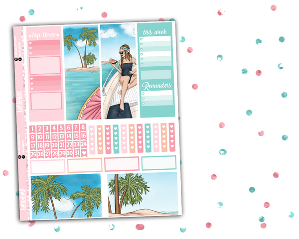 Erin Condren - More Summer Weekly Kit