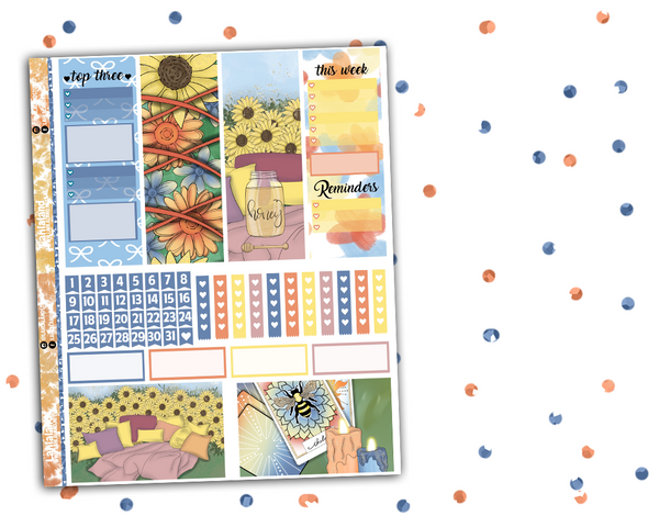Erin Condren - Sun Child Weekly Kit