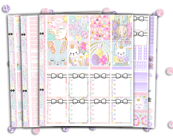 Some Bunny Loves You Weekly Kit - Erin Condren