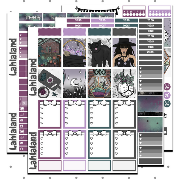 Erin Condren - Coven Weekly Kit