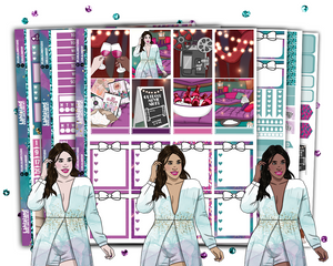 Erin Condren - Movie Night Weekly Kit