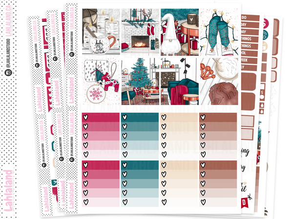 Erin Condren - Snuggle Season Weekly Kit