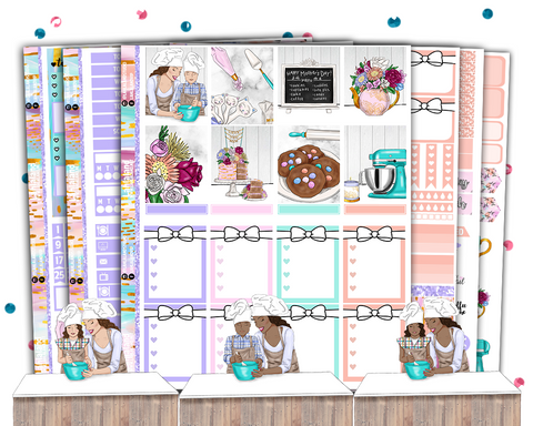 Erin Condren - Sweet One Weekly Kit