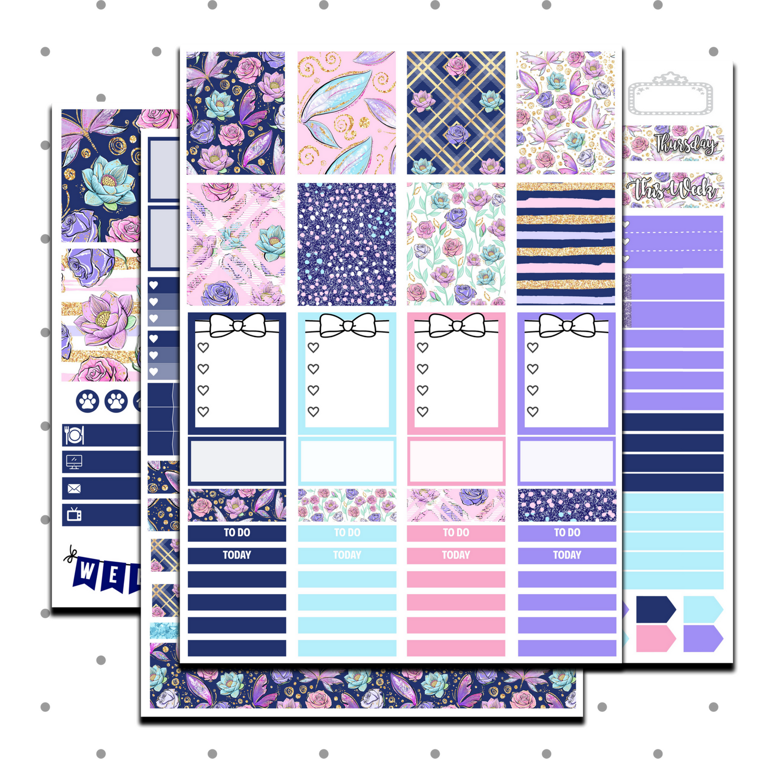 Wings Weekly Kit - Erin Condren