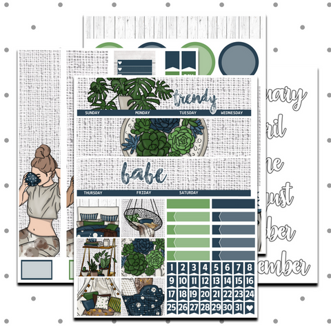Standard Vertical - Trendy Babe Monthly Kit