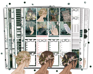 Erin Condren - Forest Nymph Weekly Kit