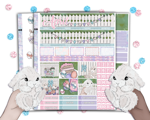 Erin Condren - Easter Monthly Kit (Dated and Undated)