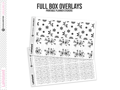 Winter - Foil Overlays