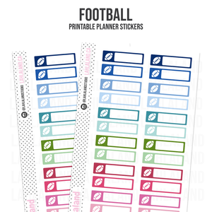 Football - Functional Stickers