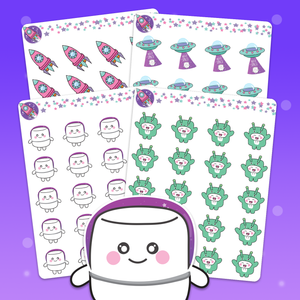 Galaxy Stickers - Tripp