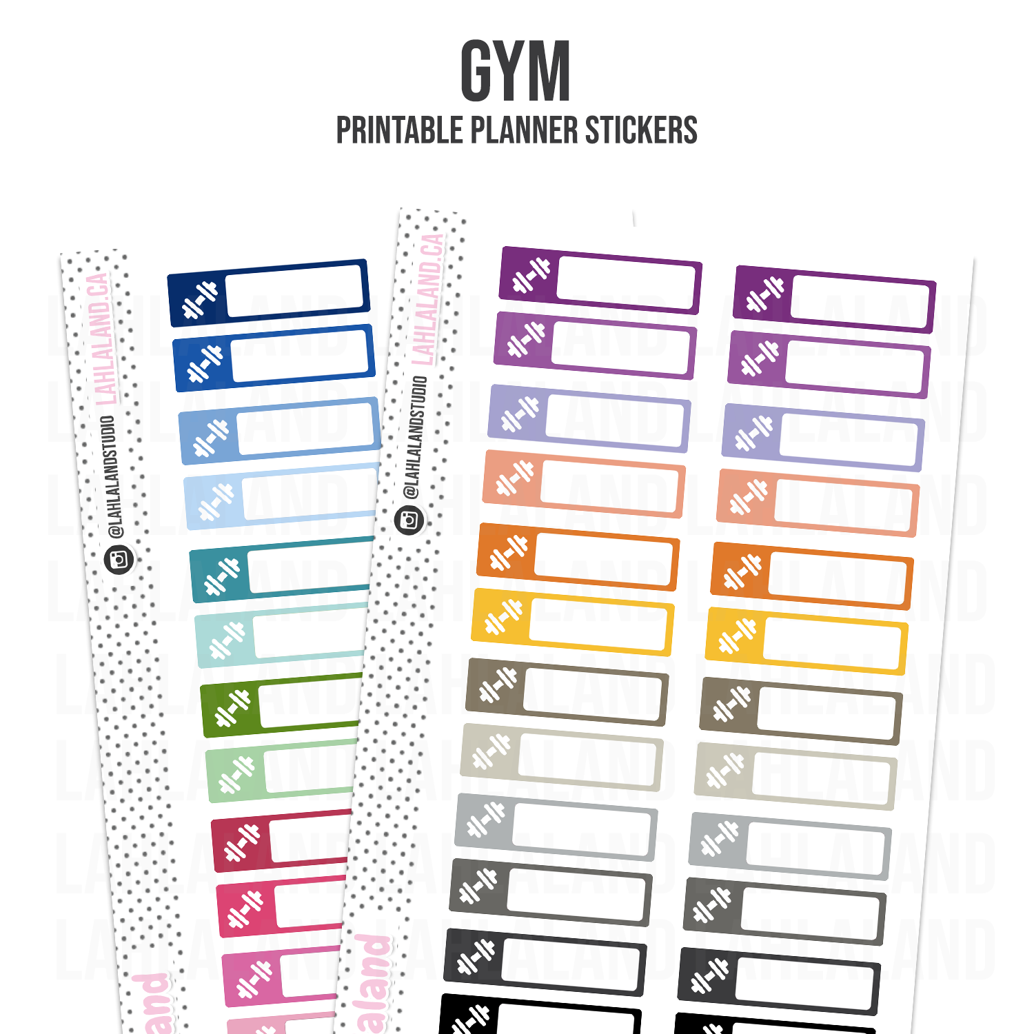 Gym - Functional Stickers