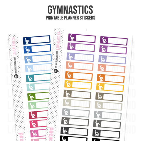 Gymnastics - Functional Stickers