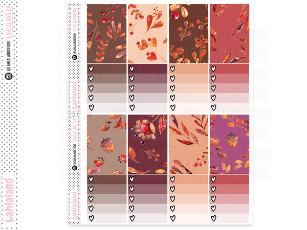 Classic Happy Planner - Autumn Delights Weekly Kit
